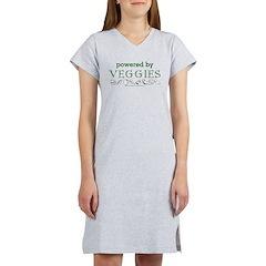 Powered By Veggies Women's Nightshirt