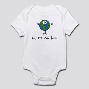 Hi, I'm new here Infant Bodysuit
