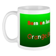 Mug: Orange Blossom Day