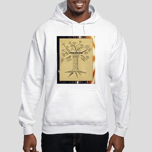 Freedom Tree Hooded Sweatshirt - Color