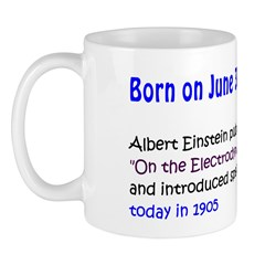Mug: Albert Einstein published