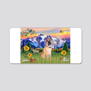 Mt Country / Shar Pei (#5) Aluminum License Plate