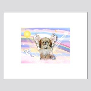 Angel Shih Tzu in Clouds Small Poster