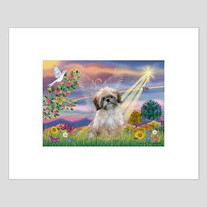 Cloud Angel & Shih Tzu Small Poster