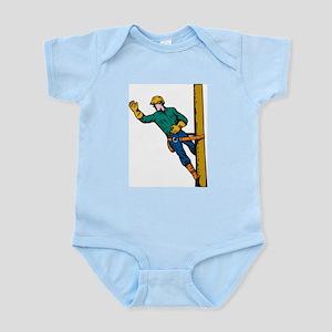 power lineman repairman Infant Bodysuit