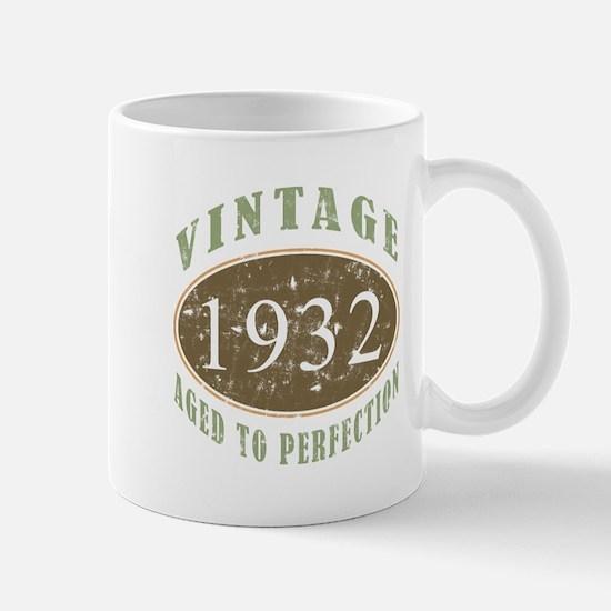 Vintage 1932 Aged To Perfection Mug