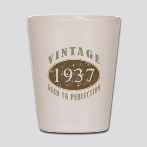 Vintage 1937 Aged To Perfection Shot Glass