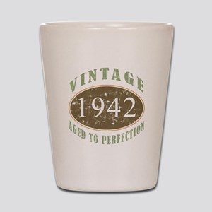 Vintage 1942 Aged To Perfection Shot Glass