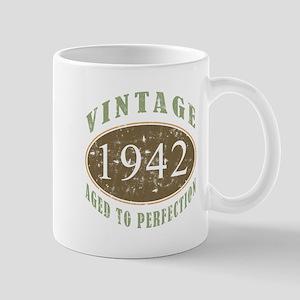 Vintage 1942 Aged To Perfection Mug