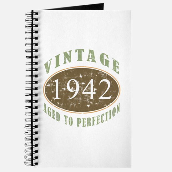 Vintage 1942 Aged To Perfection Journal