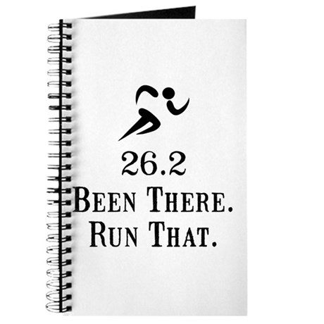 26.2 Been There Run That Journal