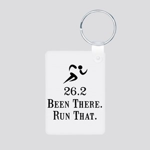 26.2 Been There Run That Aluminum Photo Keychain