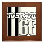 Mustang 66 Framed Tile