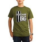 Mustang 66 Organic Men's T-Shirt (dark)