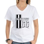 Mustang 66 Women's V-Neck T-Shirt