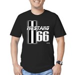 Mustang 66 Men's Fitted T-Shirt (dark)