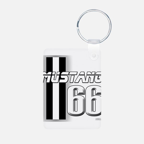 Mustang 66 Keychains