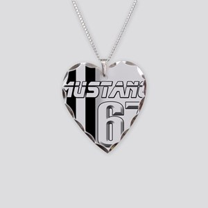 Mustang 67 Necklace Heart Charm
