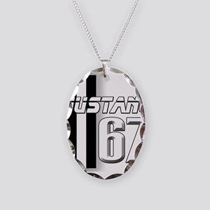 Mustang 67 Necklace Oval Charm