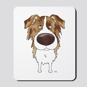 Big Nose Aussie Mousepad