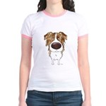 Big Nose Aussie Jr. Ringer T-Shirt