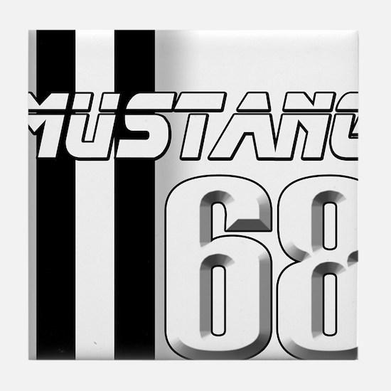 Mustang 68 Tile Coaster
