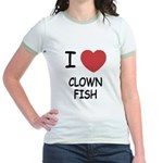 I heart clownfish Jr. Ringer T-Shirt