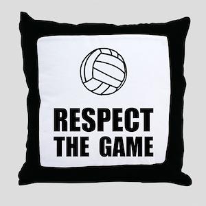 Respect Volleyball Throw Pillow