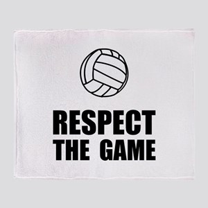 Respect Volleyball Throw Blanket