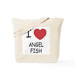 I heart angelfish Tote Bag