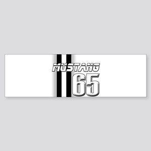 Mustang 65 Sticker (Bumper)
