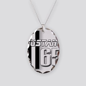 Mustang 65 Necklace Oval Charm