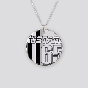 Mustang 65 Necklace Circle Charm