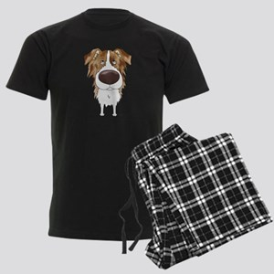 Big Nose Aussie Men's Dark Pajamas