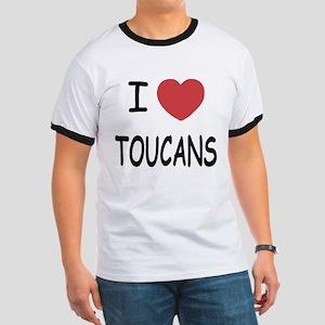 I heart toucans Ringer T