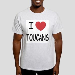 I heart toucans Light T-Shirt