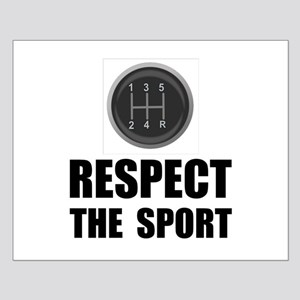 Respect Racing Small Poster