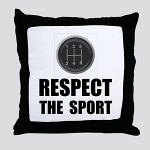 Respect Racing Throw Pillow