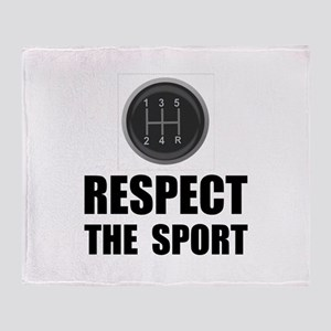 Respect Racing Throw Blanket