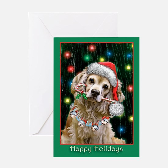 Cocker Spaniel (Blank) Greeting Card