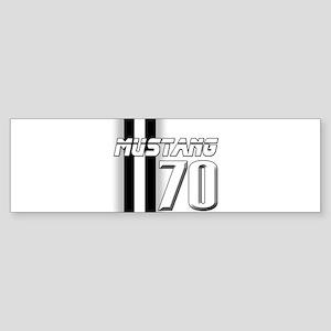 Mustang 70 Sticker (Bumper)