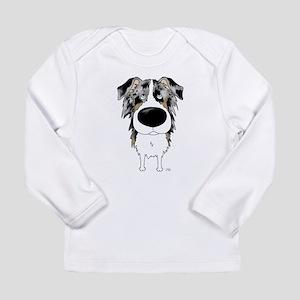 Big Nose Aussie Long Sleeve Infant T-Shirt