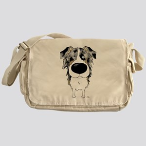 Big Nose Aussie Messenger Bag