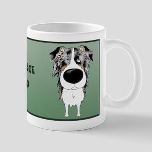 Aussie Dad Big Nose Mug
