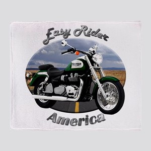 Triumph America Throw Blanket