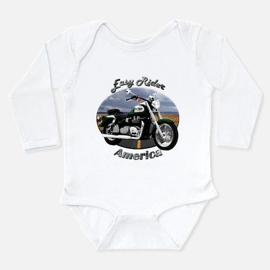 Triumph America Long Sleeve Infant Bodysuit