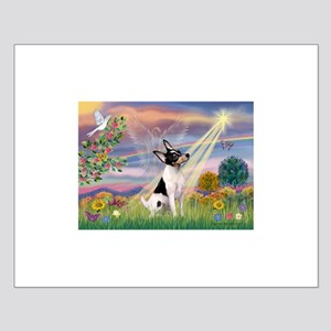 Cloud Angel & Toy Fox Terrier Small Poster