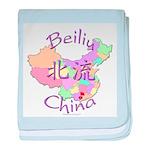 Beiliu China Map baby blanket