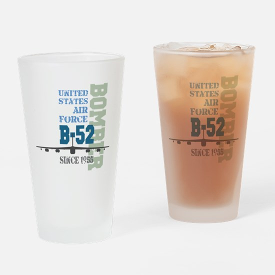 B-52 Bomber Military Aircraft Drinking Glass