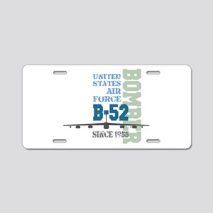 B-52 Bomber Military Aircraft Aluminum License Pla